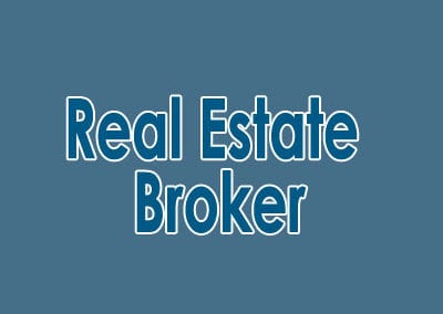 Real Estate Broker